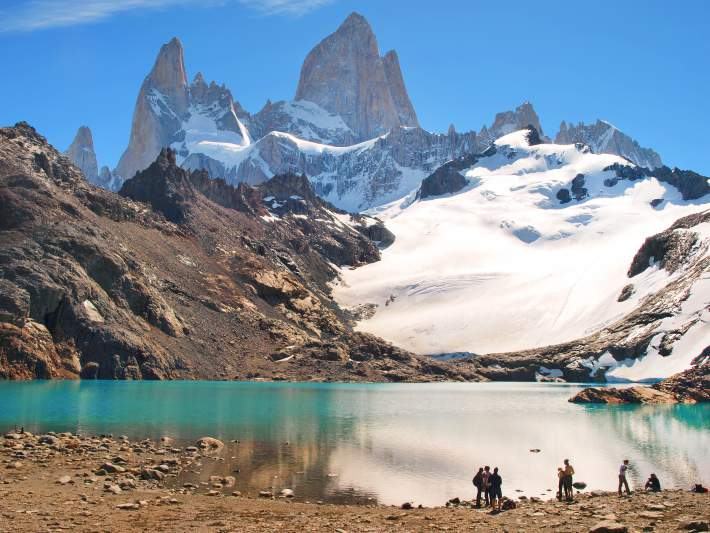 Paisagem belíssima da Argentina
