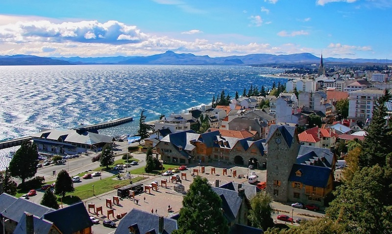 Visual de Bariloche na Argentina