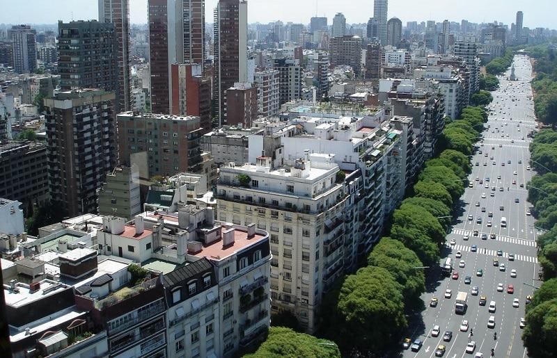 Carros em Buenos Aires