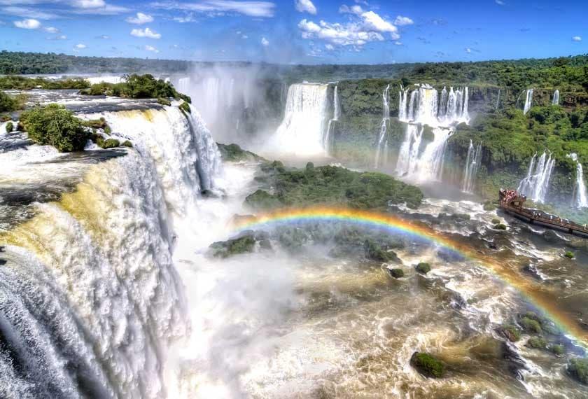 Cataratas do Iguazú na Argentina
