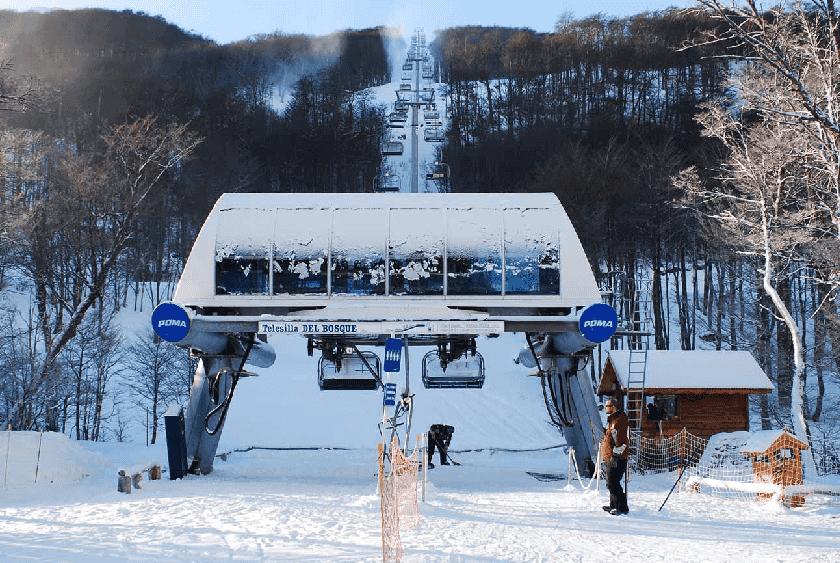 Como é a pista de esqui Cerro Castor