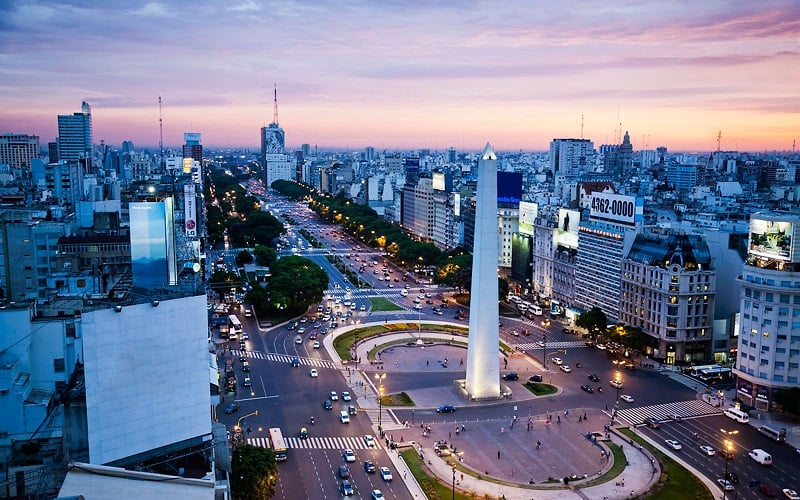Buenos Aires na Argentina
