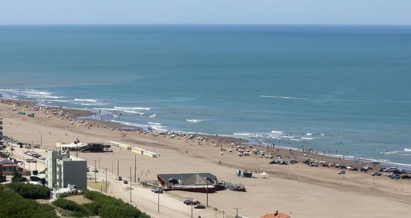 Praia Claramecó na Argentina