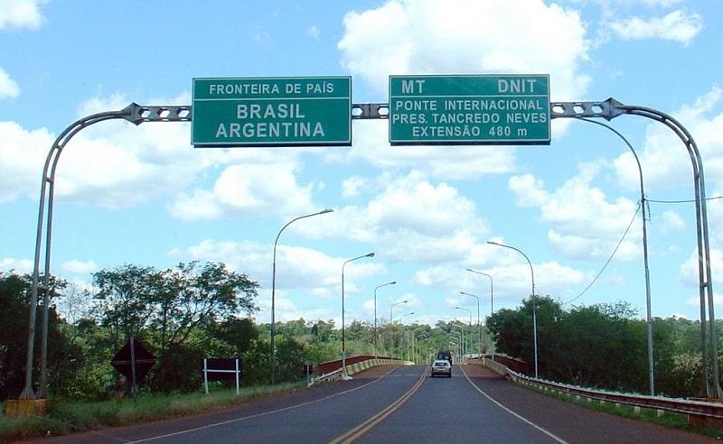 Fronteira Brasil x Argentina