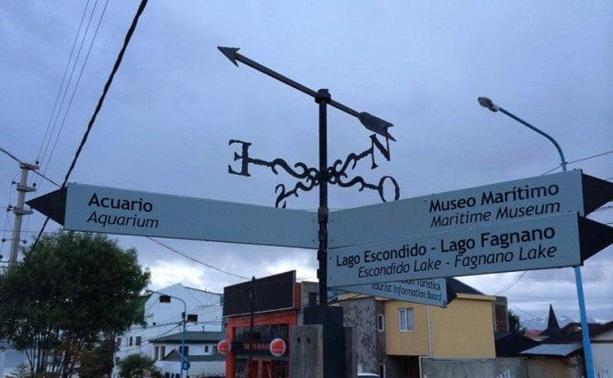 Placas escritas com espanhol latino - Argentina