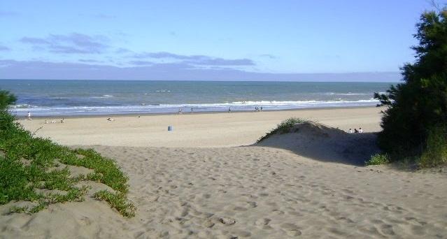 Praia Mar de las Pampas na Argentina