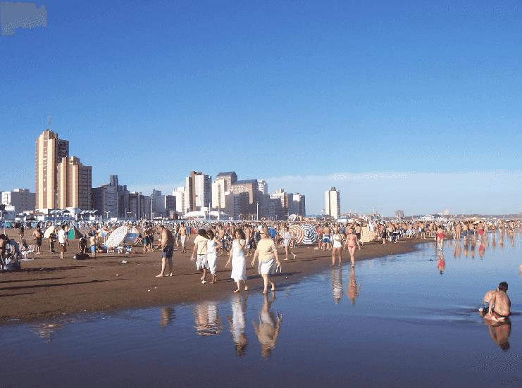 Praias Necochea e Quéquen na Argentina