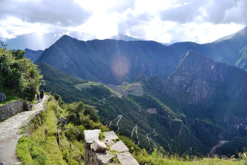 Paisagem Cordilheira do Andes
