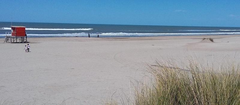 Praia de Mar Azul - Argentina