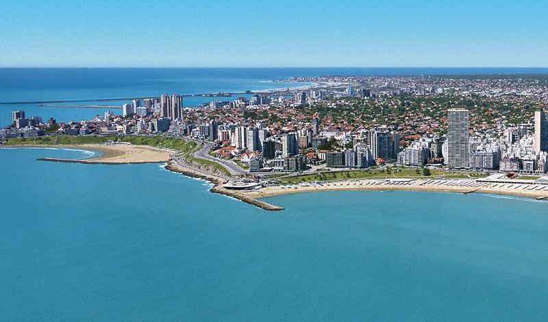 Praias na Argentina: Mar del Prata