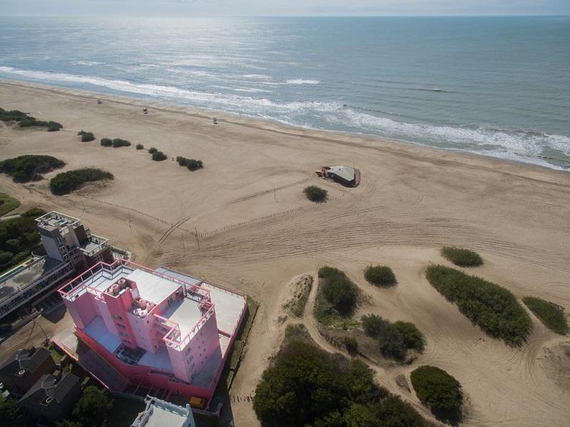 Praia Valeria del Mar na Argentina