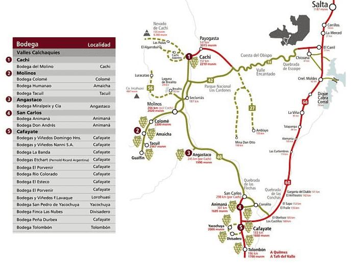 Quais cidades percorrer no seu roteiro do vinho de carro pela Argentina?
