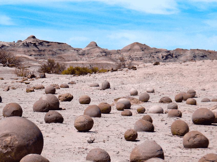 Vale de La Luna na Argentina