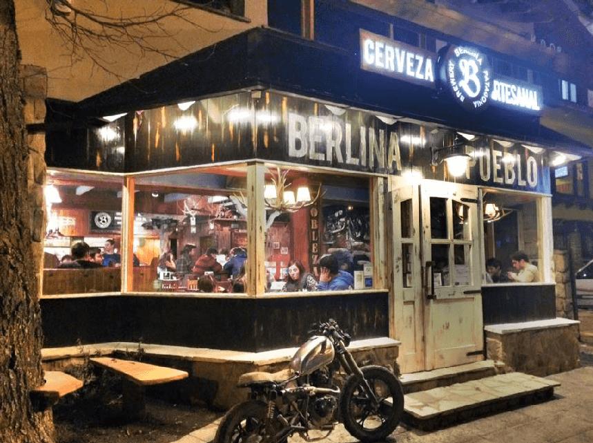 Bar Berlina Pueblo em Bariloche