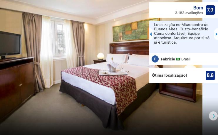 Claridge Hotel em Buenos Aires