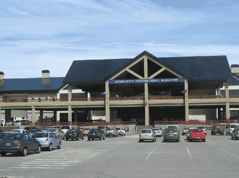 Como ir de carro do aeroporto de Bariloche até o centro turístico