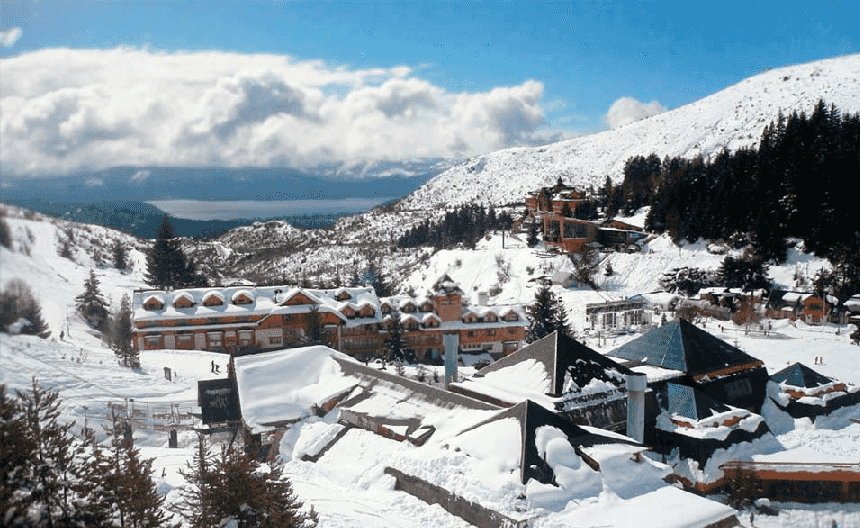 Esquiar em Bariloche na Argentina