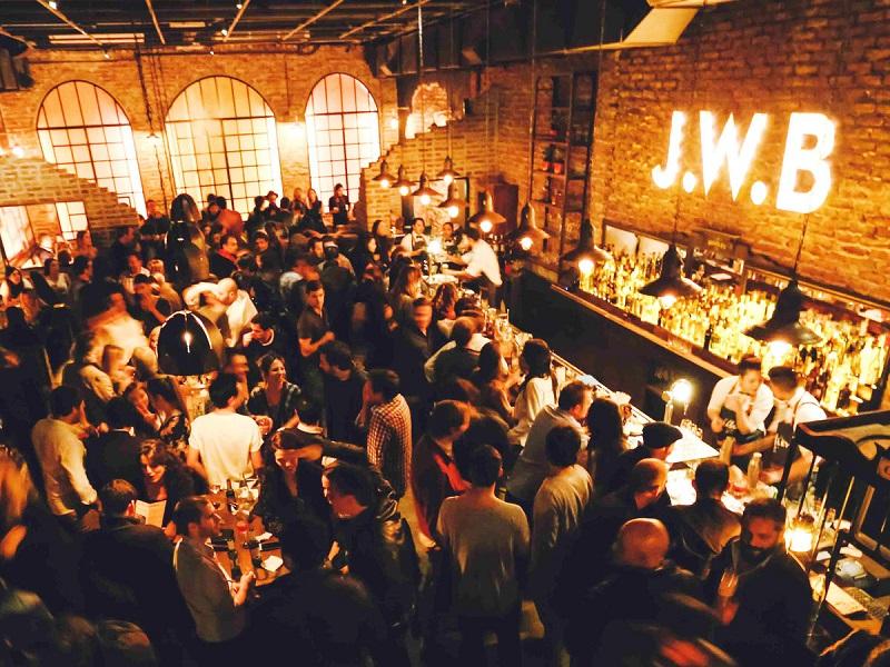 J. W. Bradley - Bar em Buenos Aires