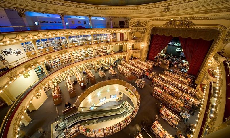 Livraria belíssima em Buenos Aires - El Ateneo Grand Splendid