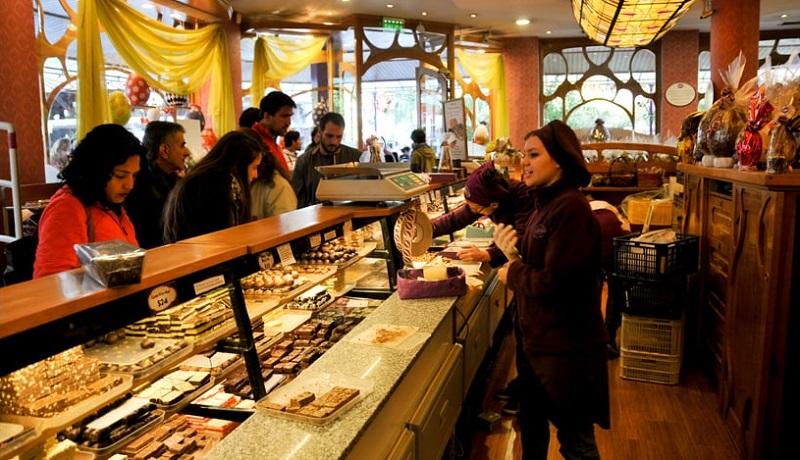 Compras na loja Chocolates Del Turista em Bariloche