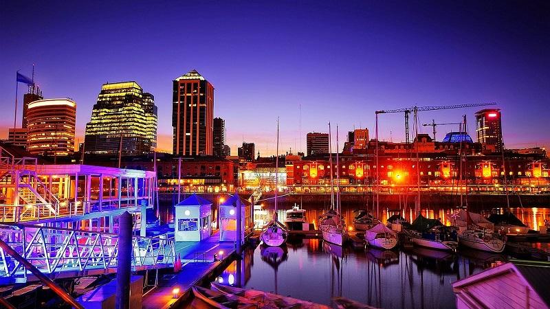 Noite em Puerto Madero - Buenos Aires