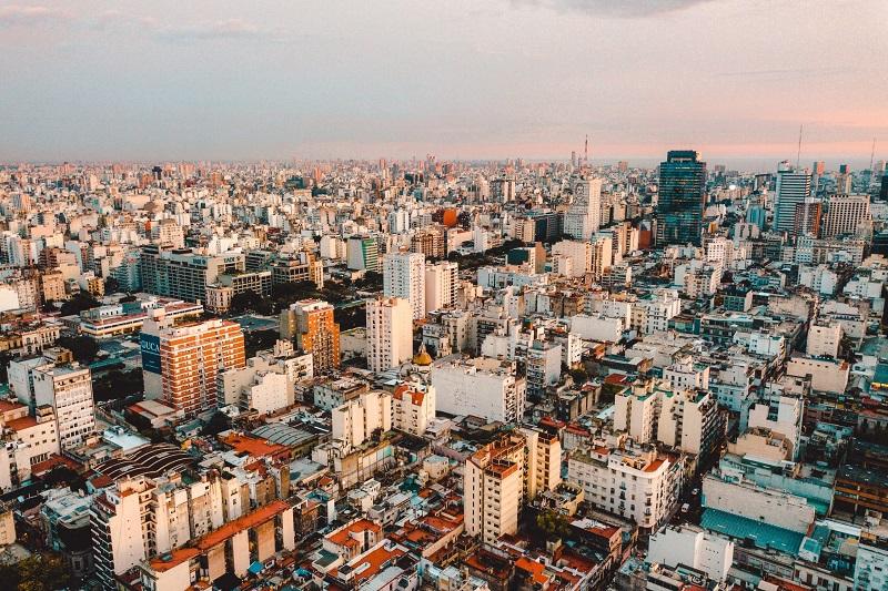 Panorâmica de Buenos Aires - bairros e regiões