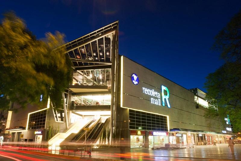 Recoleta Mall em Buenos Aires