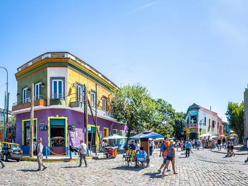 Sol de verão em Buenos Aires