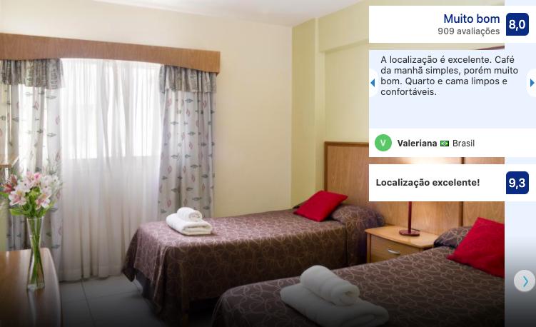 Hotel Internacional em Bariloche