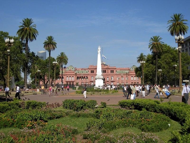 Visitar a Plaza de Mayo na lua de mel em Buenos Aires
