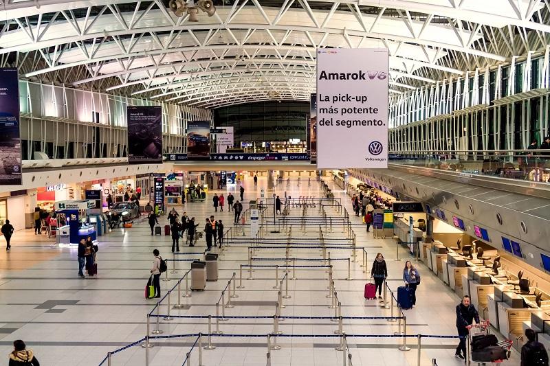 Aeroporto na Argentina