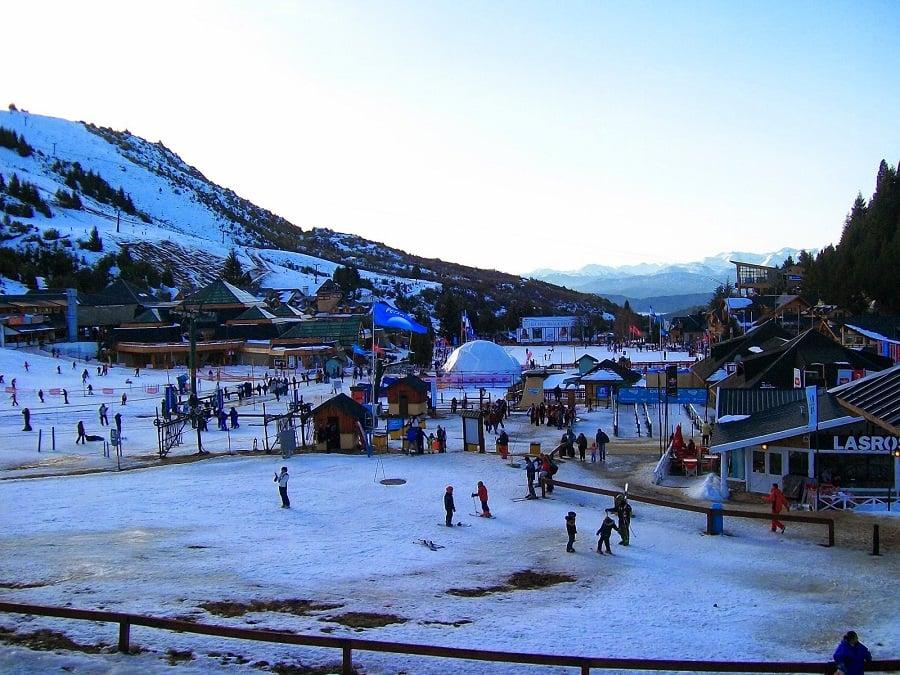 Esquiar no Cerro Catedral em Bariloche com crianças