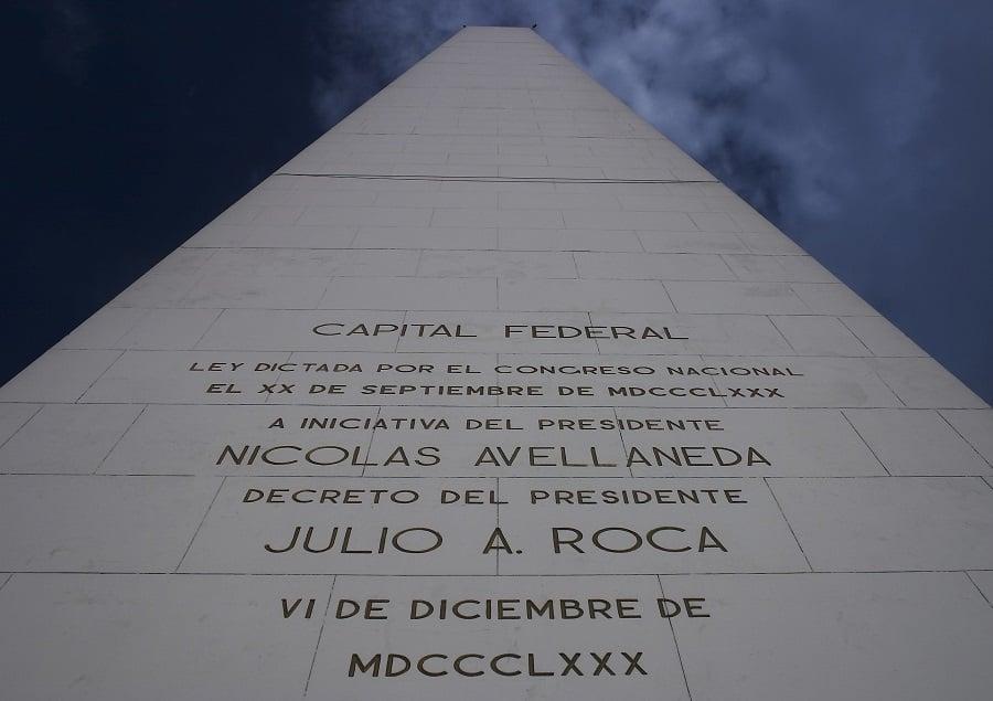 O Obelisco de Buenos Aires