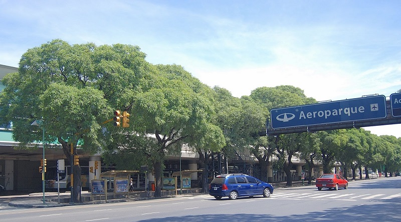 Placa do Aeroparque - Buenos Aires