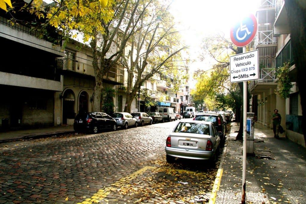 Bairro Villa Crespo em Buenos Aires