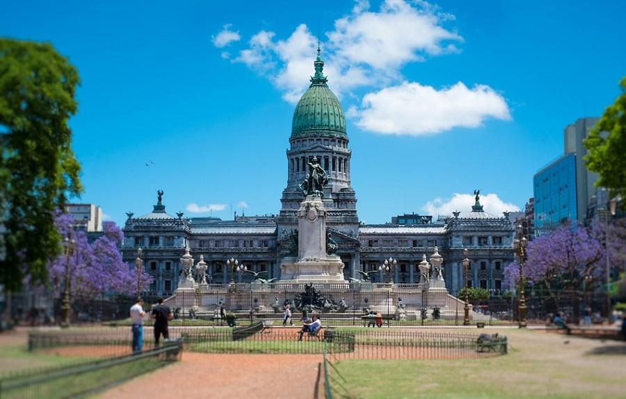Plaza del Congreso em Buenos Aires