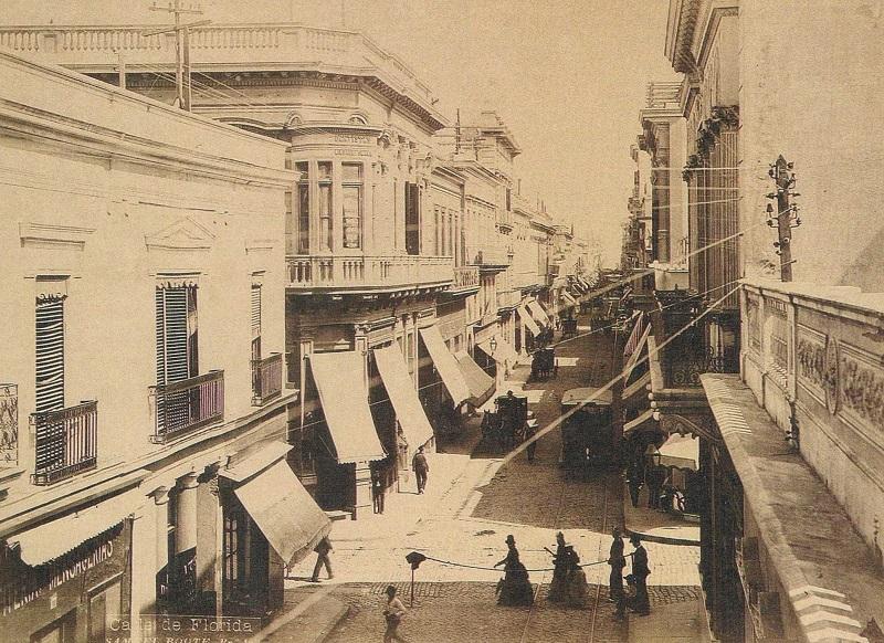 Calle Florida no passado
