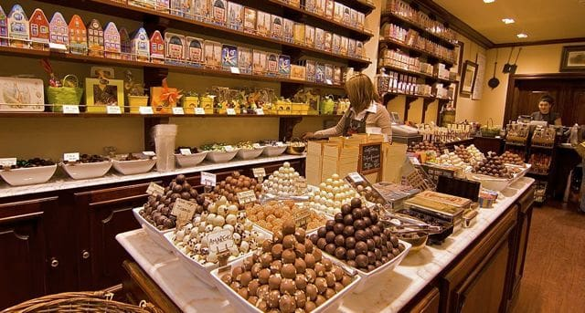 Comprar chocolate em Bariloche