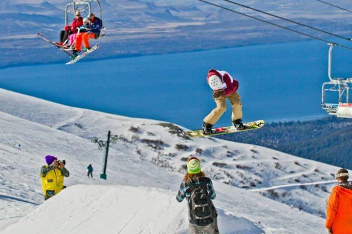 Esquiar em Bariloche no inverno