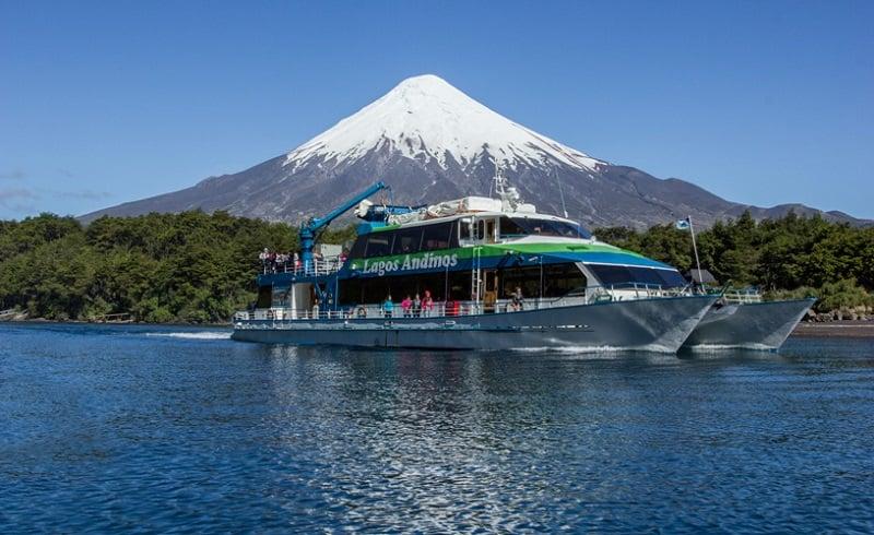Passeio de barco em Bariloche