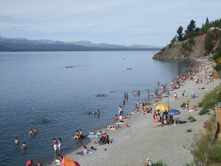 Praia Bonita em Bariloche
