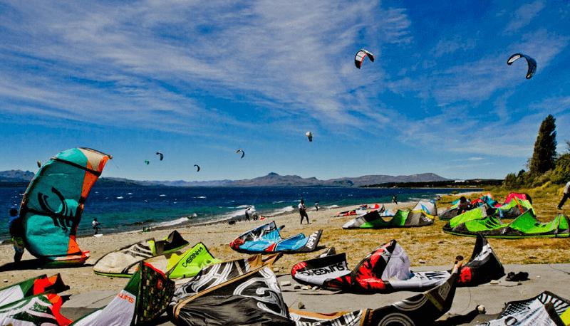 Praia Centenário em Bariloche
