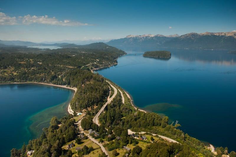 Rota dos 7 Lagos no verão em Bariloche