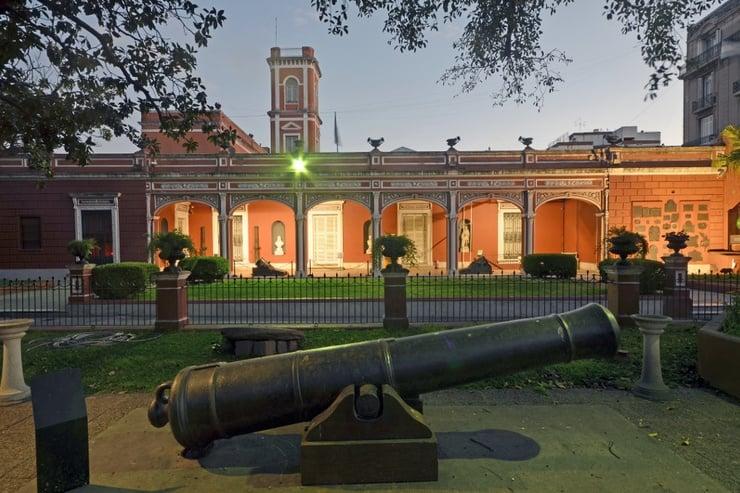 Visita ao Museu Histórico Nacional da Argentina