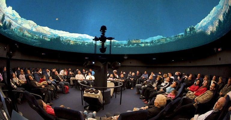 Visita ao Planetário Galileo Galilei