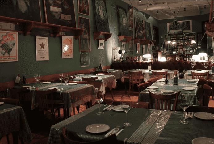Restaurante La Esperanza de los Ascurra na Villa Crespo
