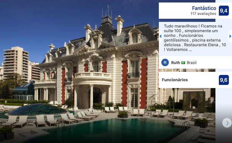 Hotel Four Seasons em Buenos Aires