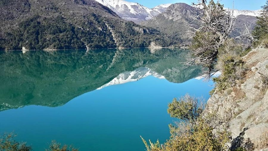 Lago Gutiérrez em Bariloche