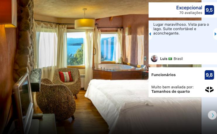 Hotel Lirolay Suites em Bariloche