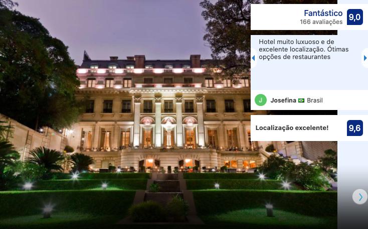 Hotel Palácio Duhau - Park Hyatt em Buenos Aires